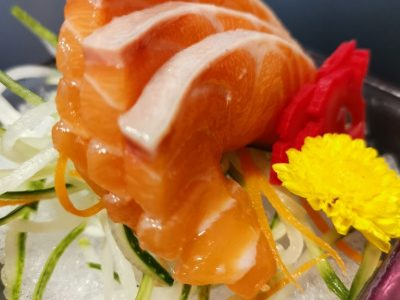 Top up Salmon Sashimi