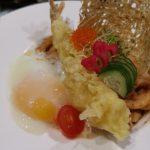 Pasta-Udon-Tempura